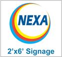 Picture of Nexa Branding Signage 2'x6'